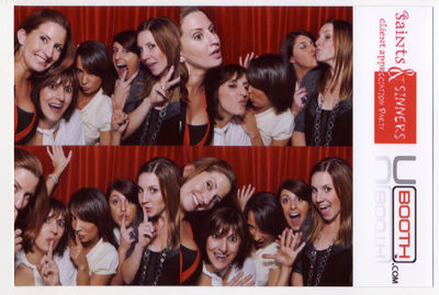 Saints and Sinners photo booth