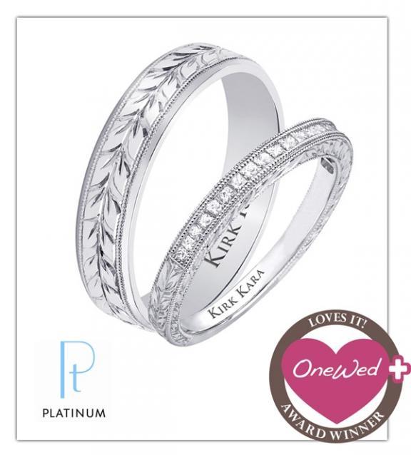 Kirk Kara wedding rings