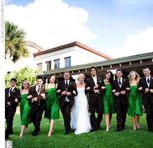 Jennika wedding party