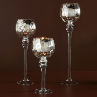 Mercury tealight trio