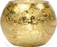 Mercury globe gold