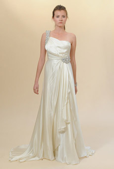 Jenny Packham one shoulder 2010