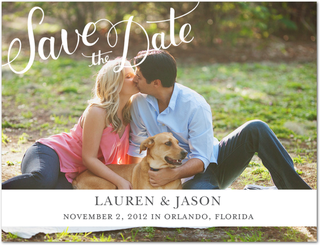 Lauren and Jason's Save-the-Date