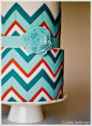 Textile Wedding Cake