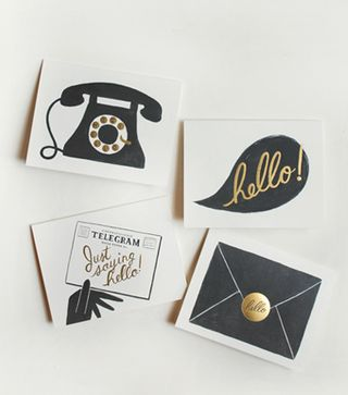 Rifle paper cards