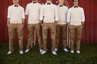 Offbeat Groomsmen